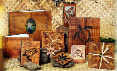 Koa Veneer Wood Gifts From Hawaii