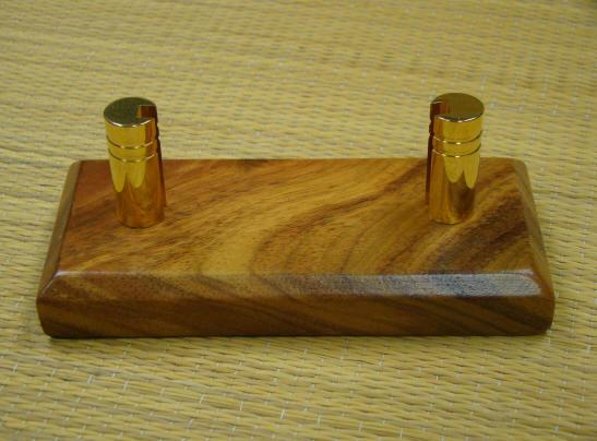 Koa wood business card holders from hawai reheart Images